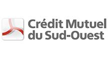 logo Crédit Mutuel du Sud Ouest